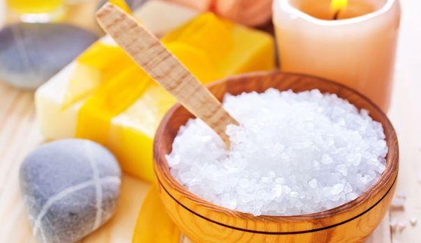 La sal marina para eliminar la celulitis