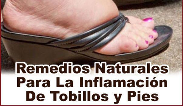 6 soluciones naturales para hinchazón de pies y tobillos