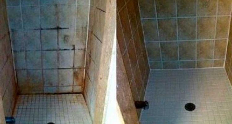 Increible técnica para limpiar los azulejos del baño MIL veces más ...
