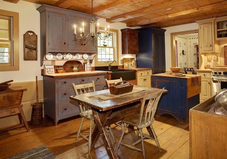 Ideas para la decoración de cocinas rústicas