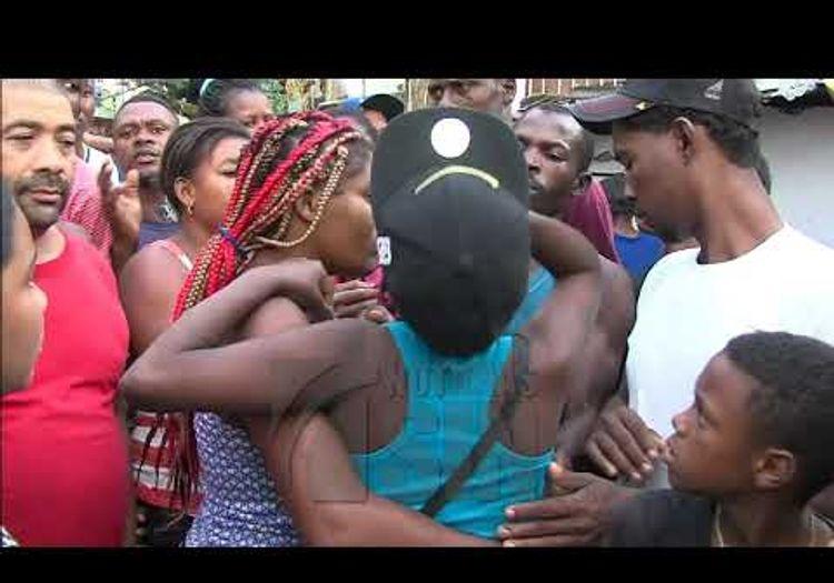 Image result for Haitiano mata a su madre y hiere a hermano en Maquiteria